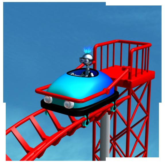 Roller coaster rider